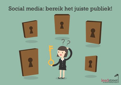 social-media-bereik-het-juiste-publiek
