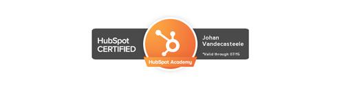 leadstreet-johan-vandecasteele-hubspot-certified