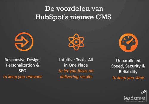 Inbound15 Nieuw HubSpot's vernieuwde CMS