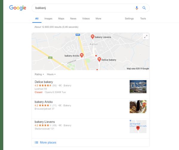 google-lokale-zoekresultaten