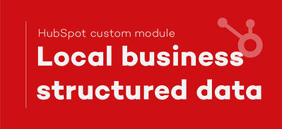 Add Local Business structured ld+json data to your blog and pages