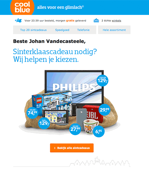 marketing-automation-drip-campaigns-coolblue-sinterklaas.png