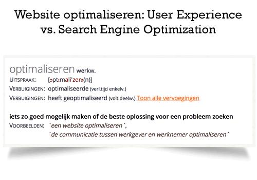 website-optimaliseren-user-experience-versus-seo